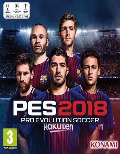 Descargar Pro Evolution Soccer 2018 por Torrent